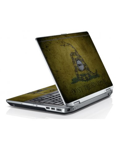 Green Dont Tread Flag Dell E6430 Laptop Skin