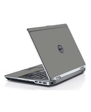 Grey/Silver Dell E6430 Laptop Skin
