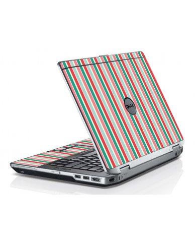 Gum Stripes Dell E6420 Laptop Skin