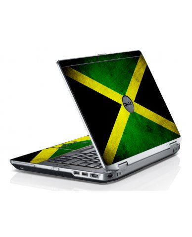 Jamaican Flag Dell E6430 Laptop Skin