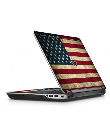 American Flag Dell E6440 Laptop Skin