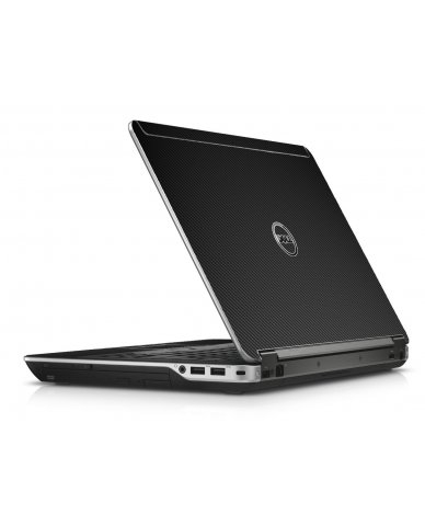 Black Carbon Fiber Dell E6440 Laptop Skin