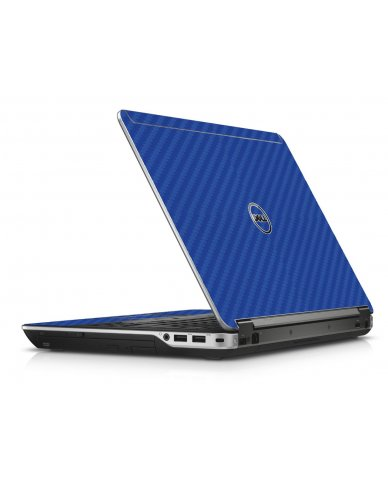 Blue Carbon Fiber Dell E6440 Laptop Skin