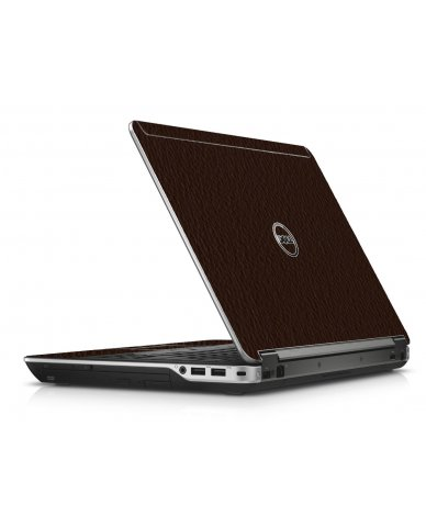 Brown Leather Dell E6440 Laptop Skin
