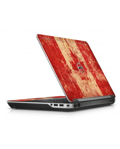 Candian Flag Dell E6440 Laptop Skin