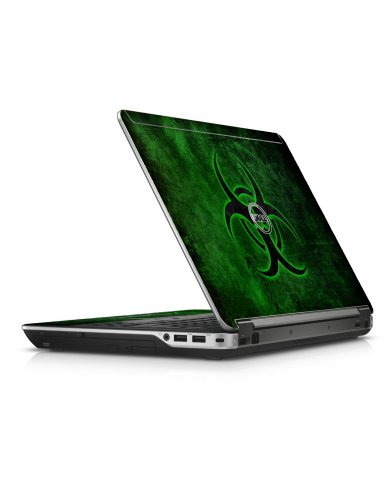 Green Biohazard Dell E6440 Laptop Skin