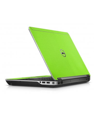Green Carbon Fiber Dell E6440 Laptop Skin
