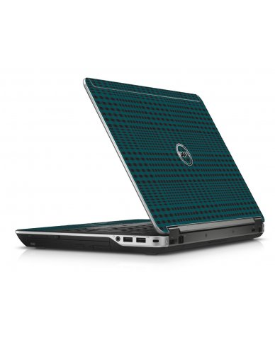Green Flannel Dell E6440 Laptop Skin