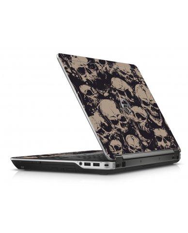 Grunge Skulls Dell E6440 Laptop Skin