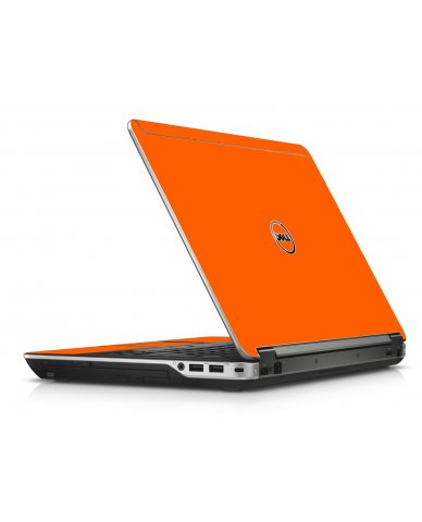 Orange Dell E6440 Laptop Skin