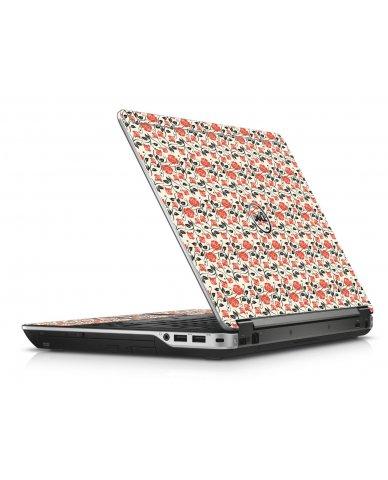 Pink Black Roses Dell E6440 Laptop Skin