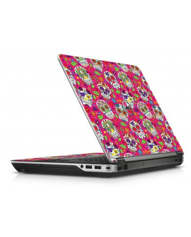 Pink Sugar Skulls Dell E6440 Laptop Skin