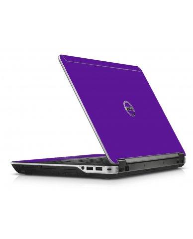 Purple Dell E6440 Laptop Skin