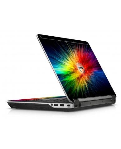 Rainbow Burst Dell E6440 Laptop Skin