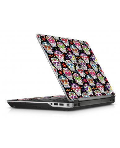 Sugar Skulls Seven Dell E6440 Laptop Skin