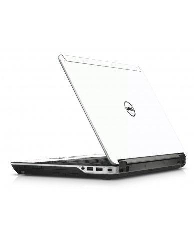 White Dell E6440 Laptop Skin