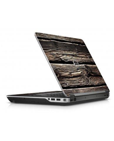 Wood Dell E6440 Laptop Skin