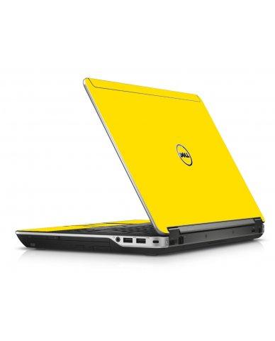 Yellow Dell E6440 Laptop Skin