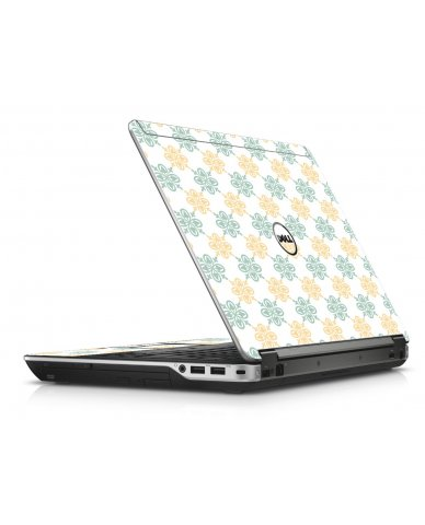 Yellow Green Flowers Dell E6440 Laptop Skin