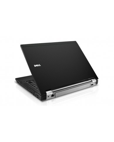 Black Carbon Fiber Dell E6500 Laptop Skin