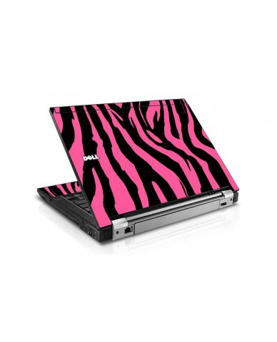 Pink Zebra Dell E6500 Laptop Skin