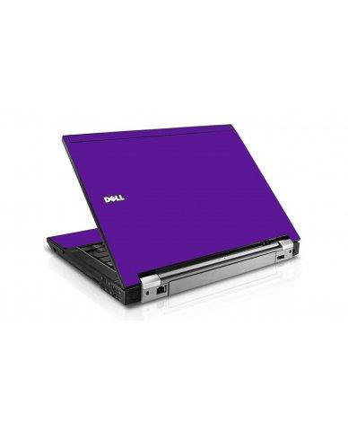 Purple Dell E6500 Laptop Skin
