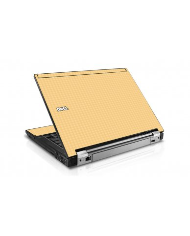 Warm Gingham Dell E6500 Laptop Skin