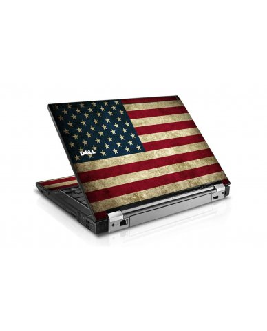 American Flag Dell E6510 Laptop Skin