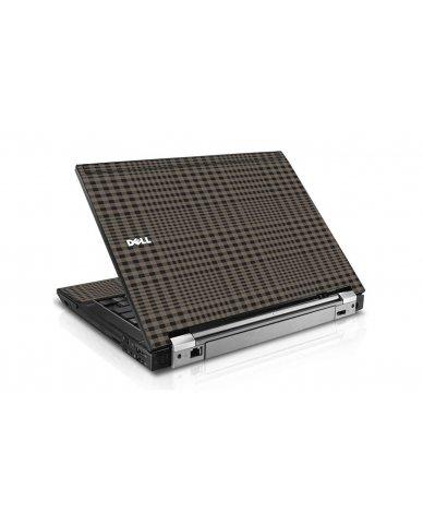 Beige Plaid Dell E6510 Laptop Skin