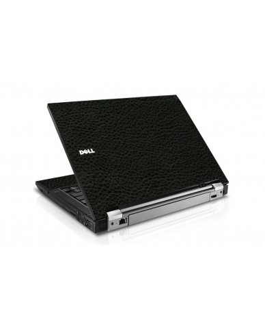 Black Leather Dell E6510 Laptop Skin