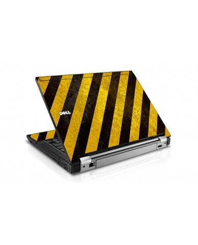 Caution Stripes Dell E6510 Laptop Skin