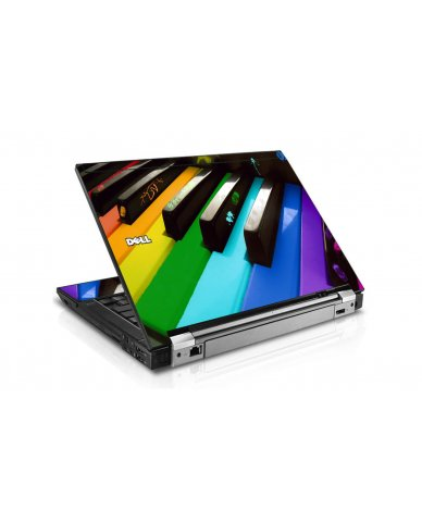Colorful Piano Dell E6510 Laptop Skin