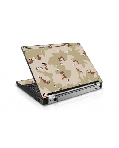 Desert Camo Dell E6510 Laptop Skin