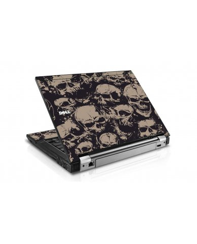 Grunge Skulls Dell E6510 Laptop Skin