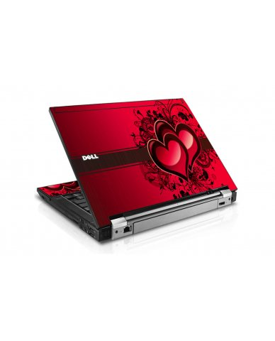 Love Heart Dell E6510 Laptop Skin