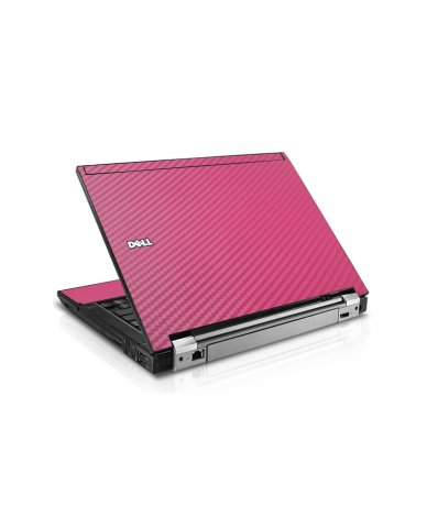 Pink Carbon Fiber Dell E6510 Laptop Skin
