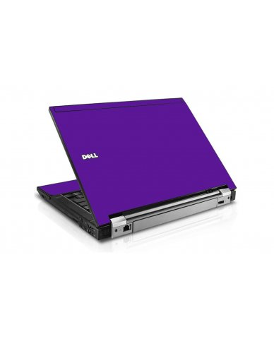 Purple Dell E6510 Laptop Skin