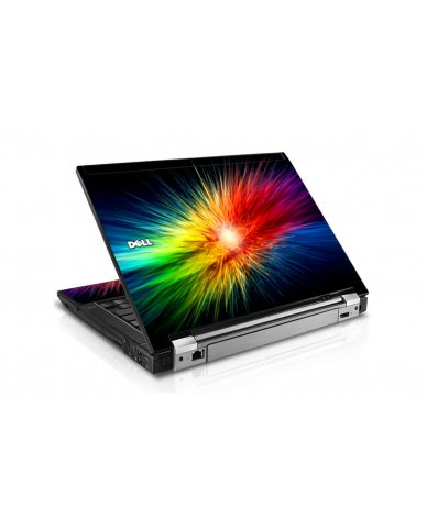 Rainbow Burst Dell E6510 Laptop Skin