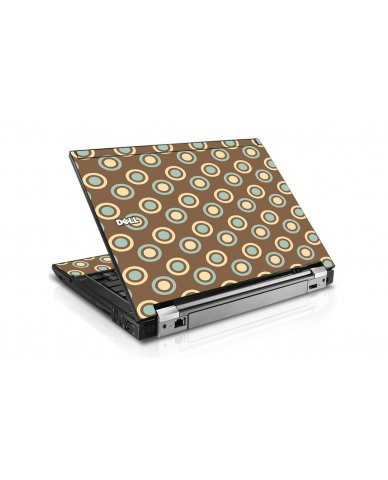 Retro Polka Dot Dell E6510 Laptop Skin