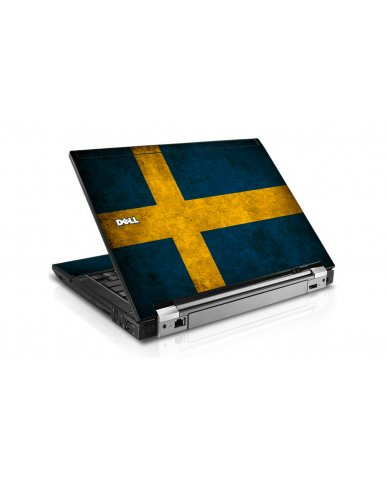 Swedish Flag Dell E6510 Laptop Skin