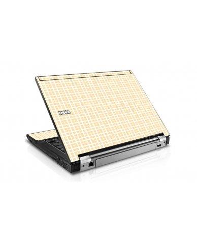 Warm Plaid Dell E6510 Laptop Skin