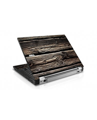 Wood Dell E6510 Laptop Skin