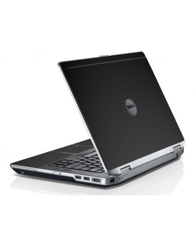 Black Carbon Fiber Dell E6520 Laptop Skin