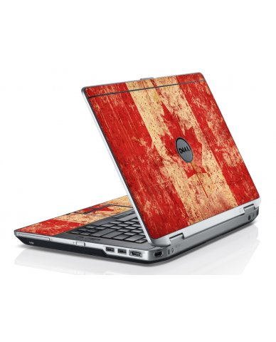 Canada Flag Dell E6520 Laptop Skin
