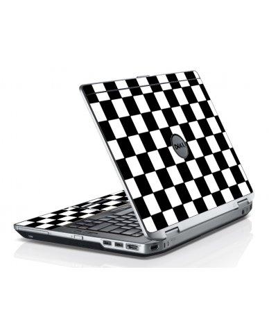 Checkered Dell E6520 Laptop Skin