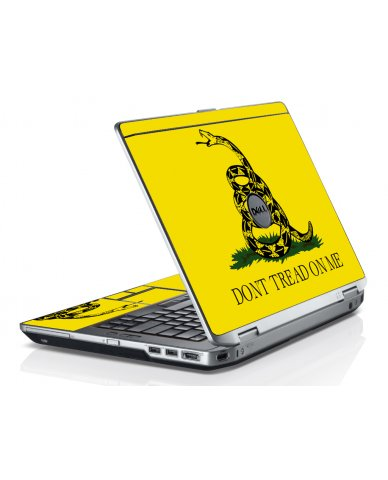 Dont Tread On Me Dell E6520 Laptop Skin