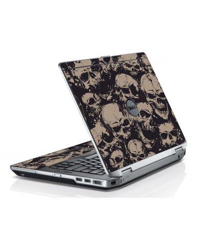 Grunge Skulls Dell E6520 Laptop Skin