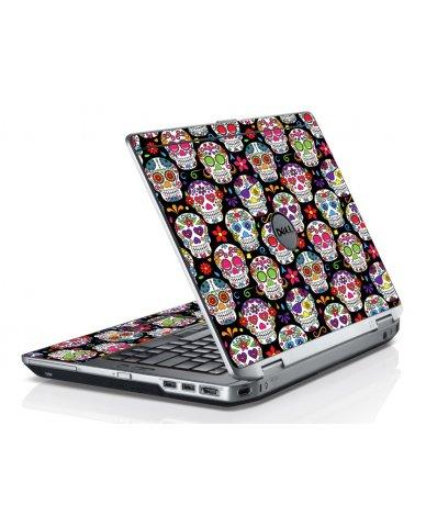 Sugar Skulls Seven Dell E6520 Laptop Skin