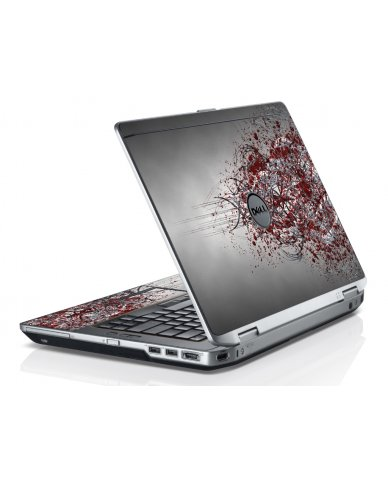 Tribal Grunge Dell E6520 Laptop Skin