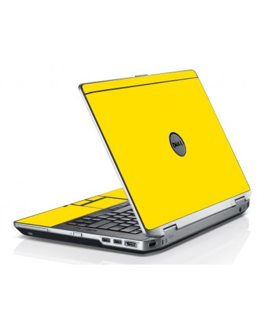 Yellow Dell E6520 Laptop Skin